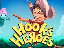 Герои Капитана Крюка в зале Вулкан
